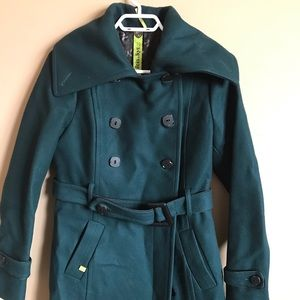 Wool blend dress jacket